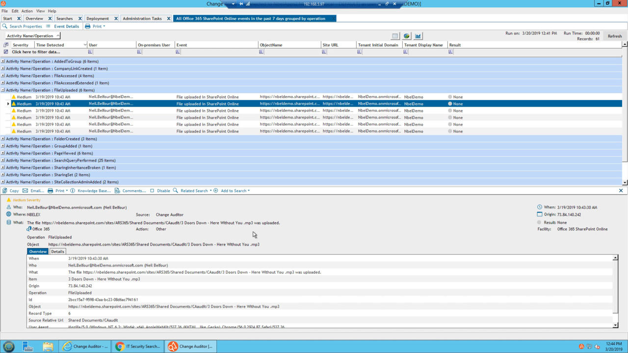 SharePoint Reporting, Auditing and Reporting