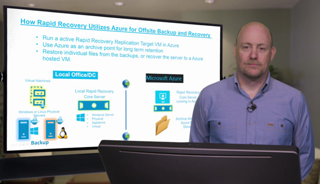 How Rapid Recovery & Azure Work Together for Offsite Backups