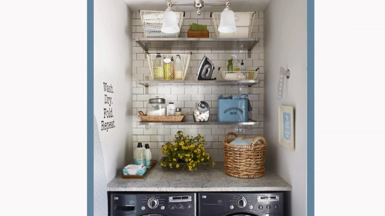 Learn More About This Small Laundry Room