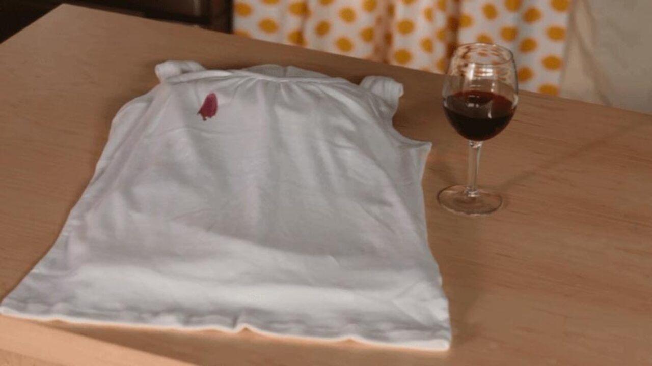 You CAN Tackle Red Wine Stains ...