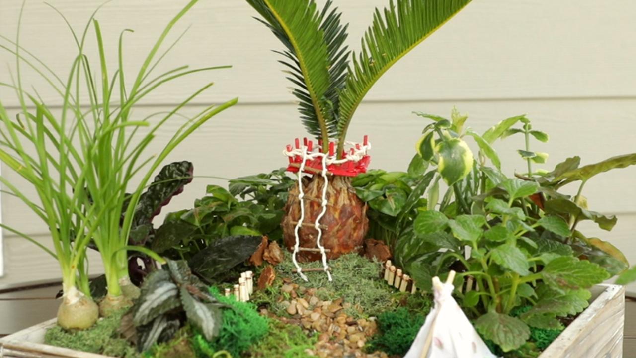 Fairy Garden Treehouse | Better Homes & Gardens