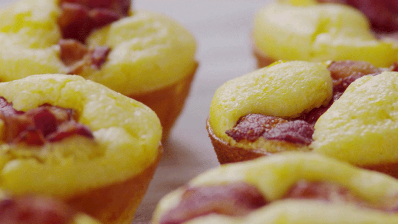 See How! Bacon-and-Egg-Muffins