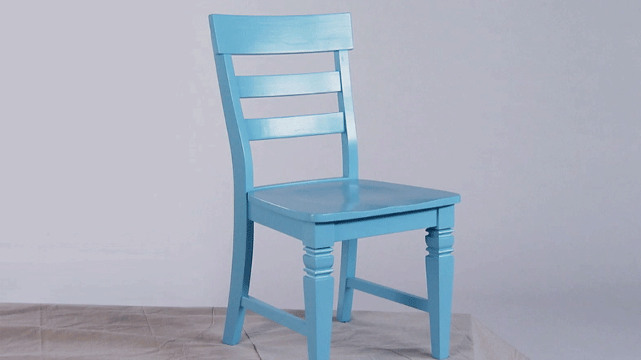 Furniture Project: Spray-Paint a Chair