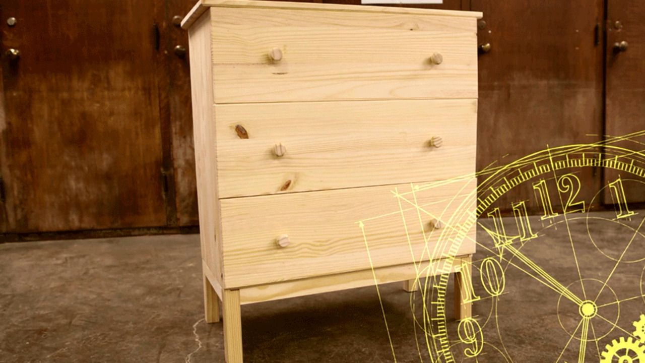 One Dresser, Four Ways