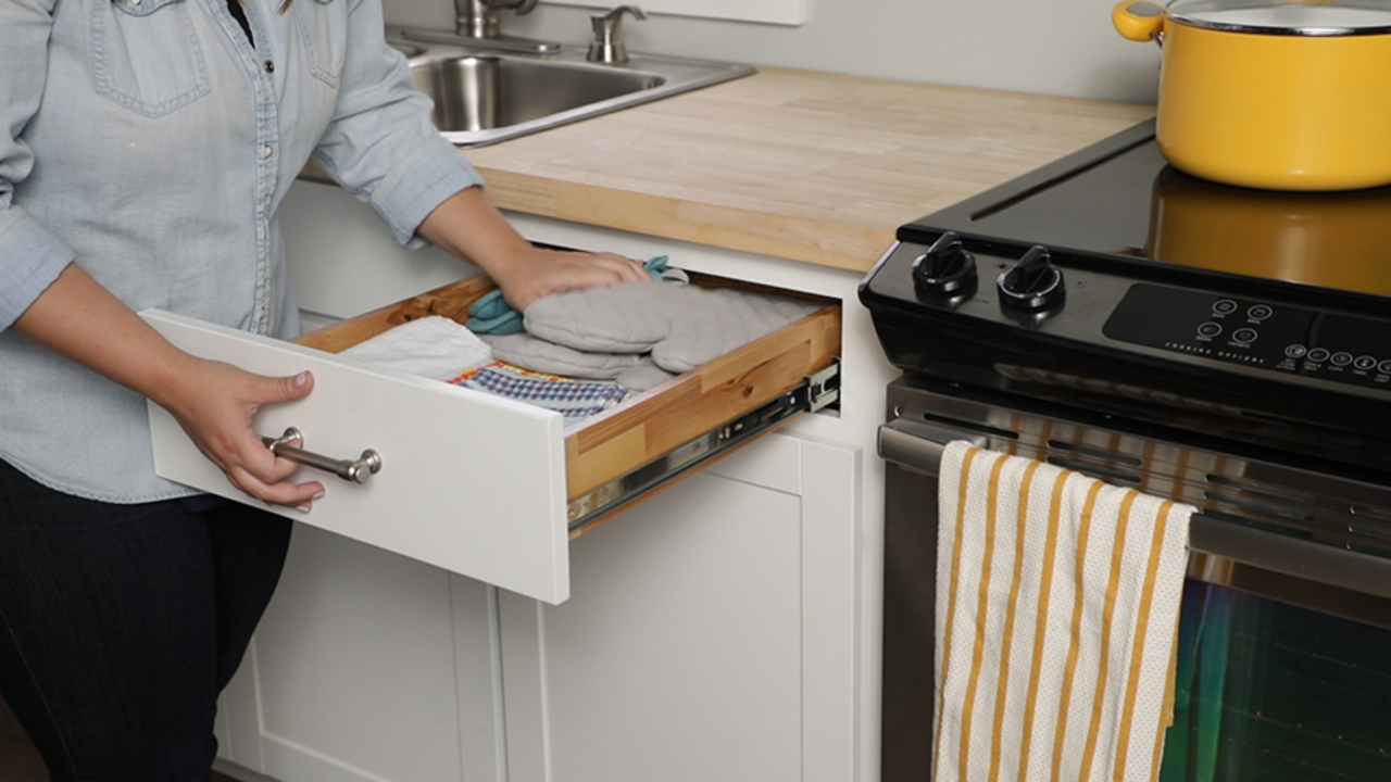 How to Install Soft-Close Drawer Slides   Better Homes & Gardens