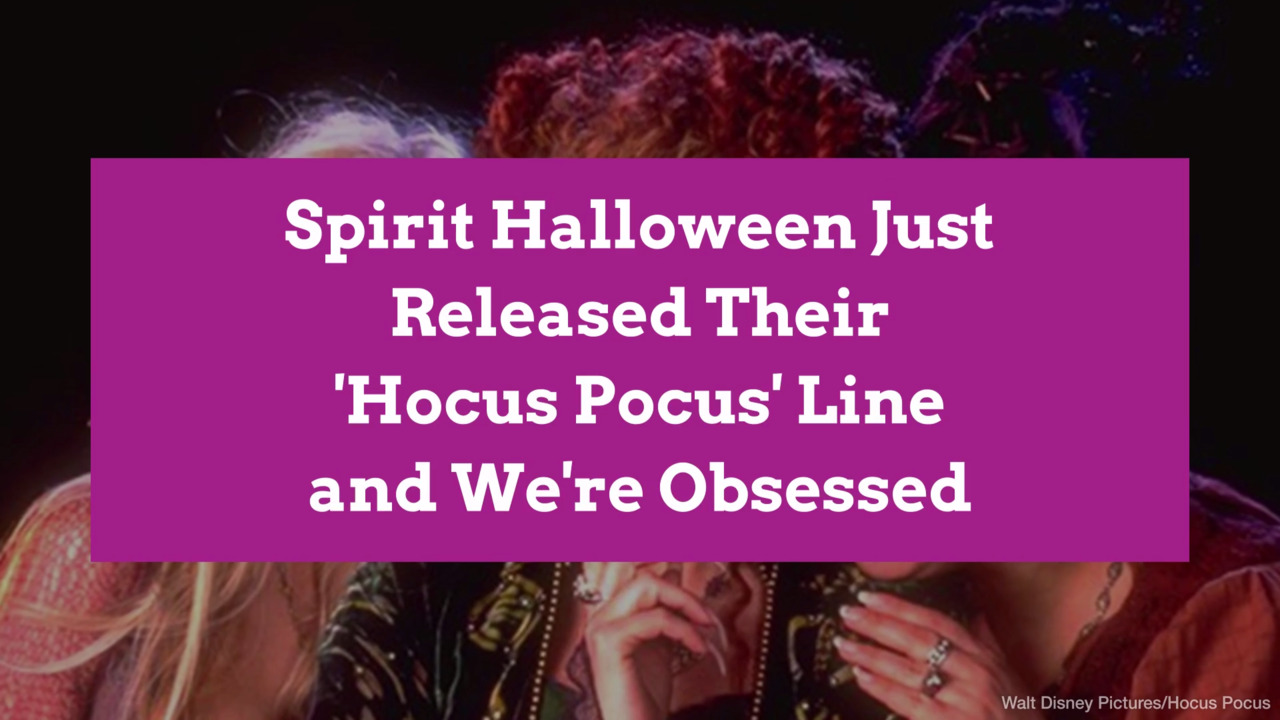 9 Things You Need From Spirit Halloween's Hocus Pocus Line | Better