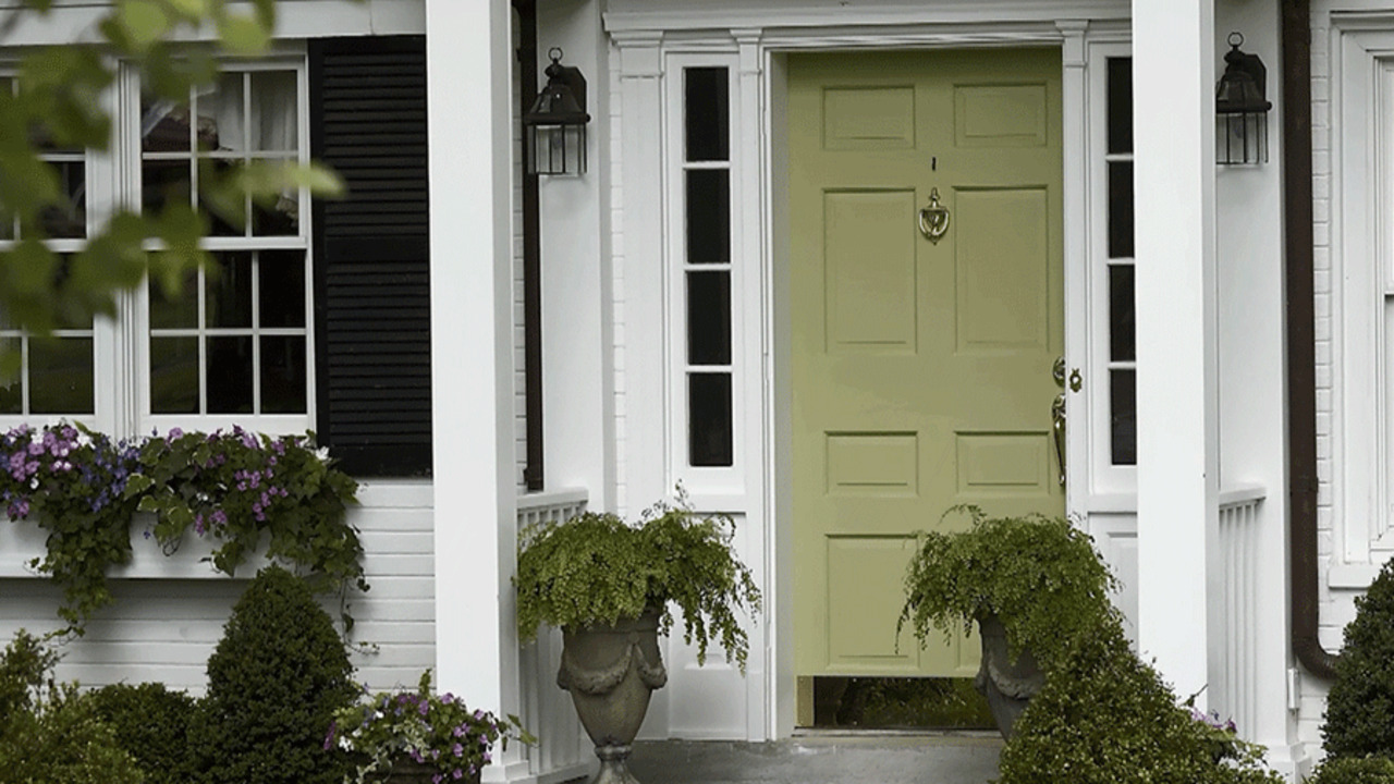 Favorite Front Door Colors