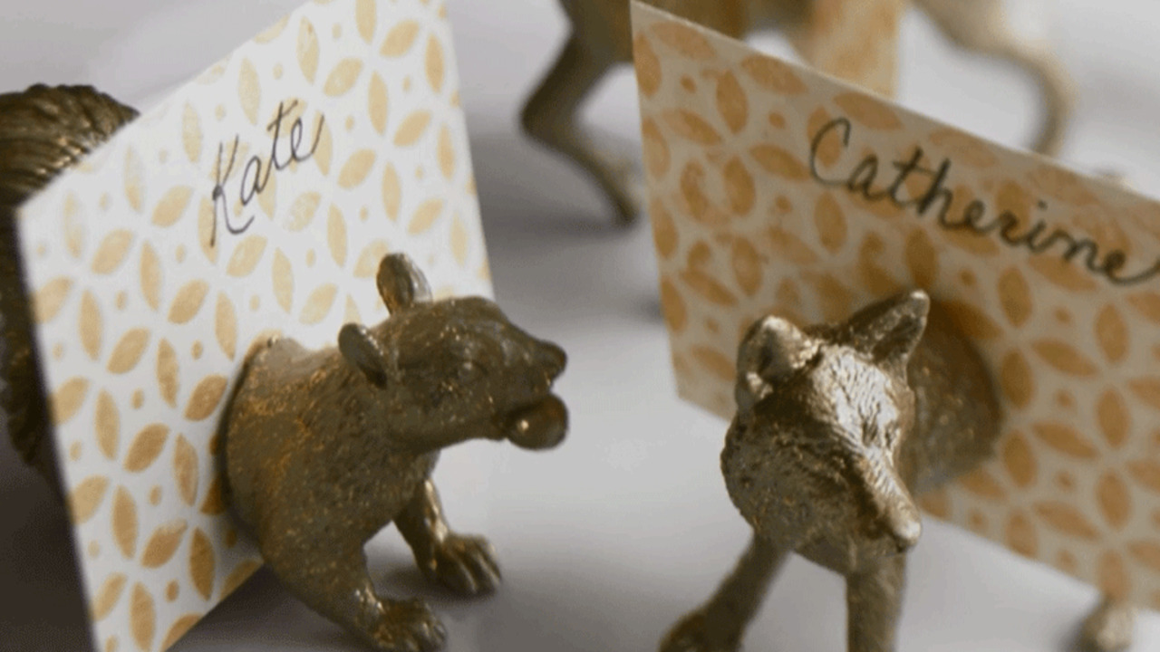 How To: Animal Place Card Holders