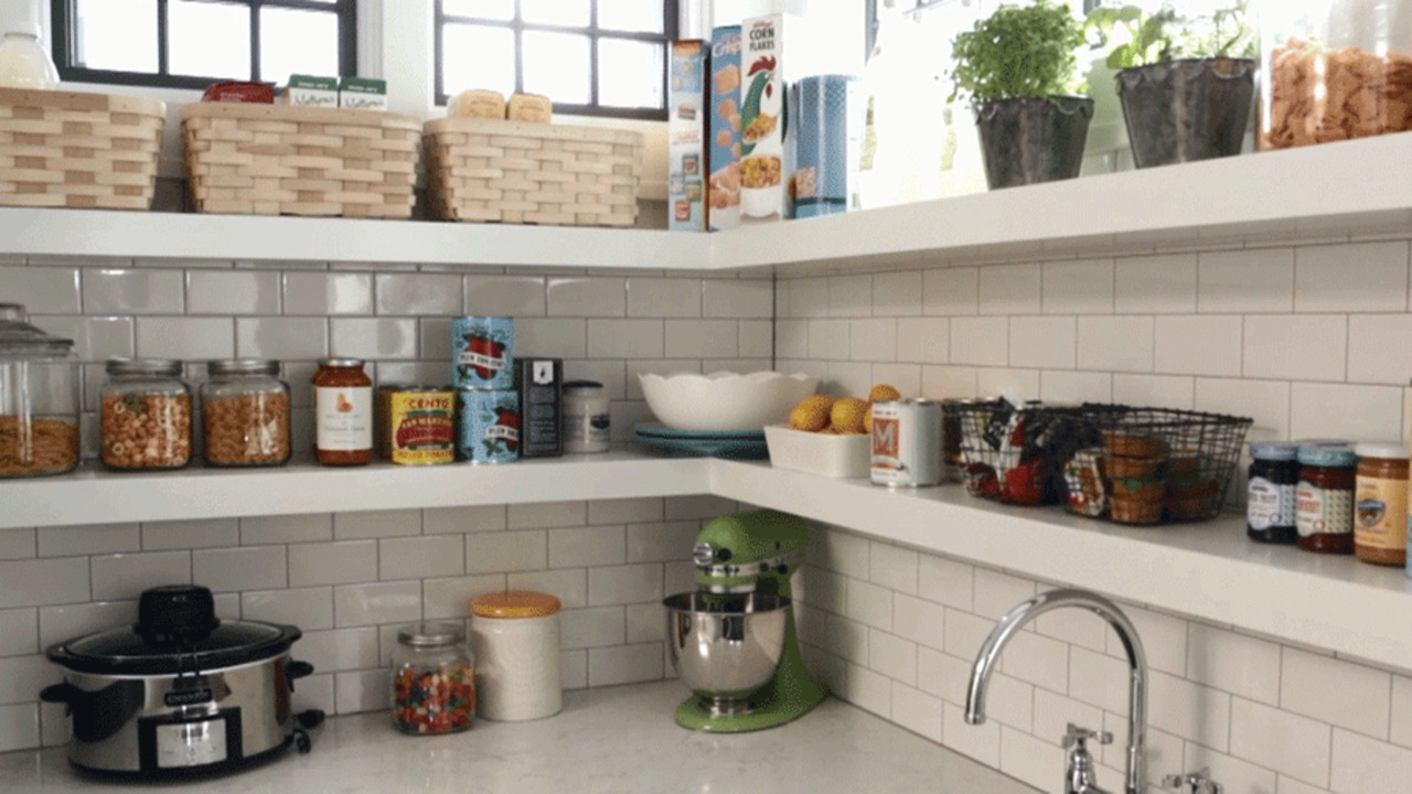 Makeover Tip: Go With Open Shelving