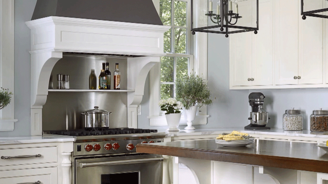 enchanting kitchen wall color ideas white cabinets | Popular Kitchen Paint Colors | Better Homes & Gardens