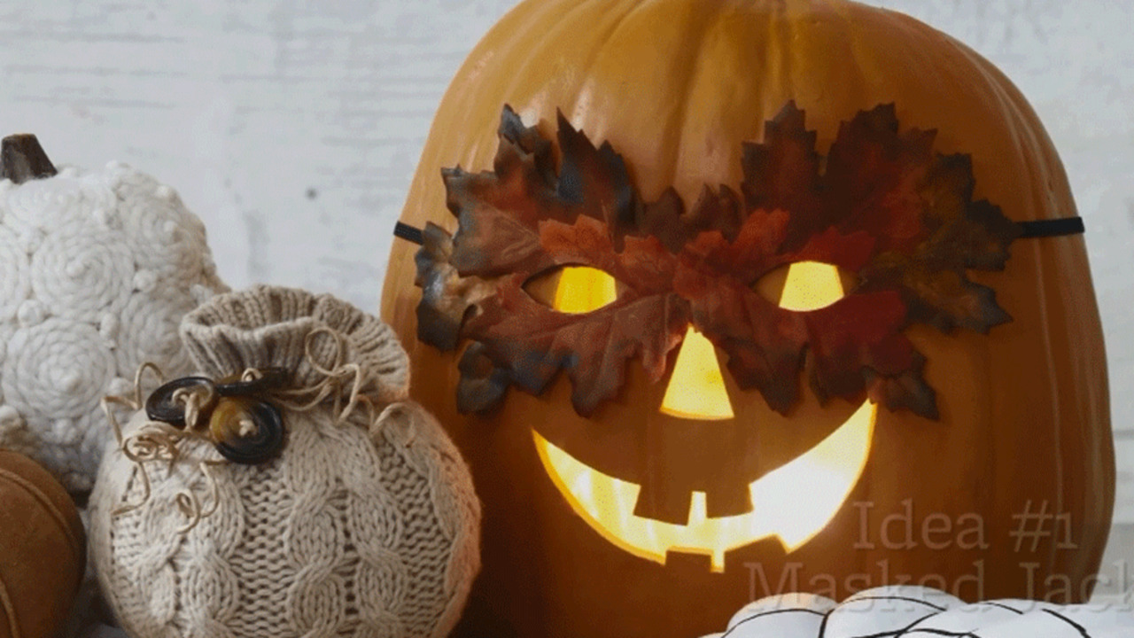 5 Fab Ideas for Pumpkin Decorating
