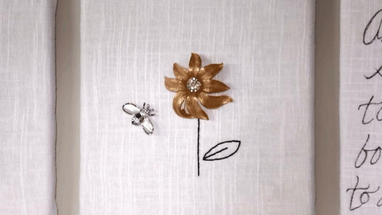 DIY Jewelry Wall Art