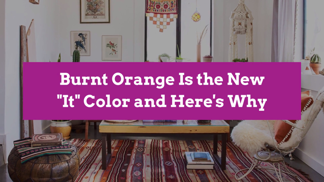 Burnt Orange Is the New It Color and Here's Why | Better