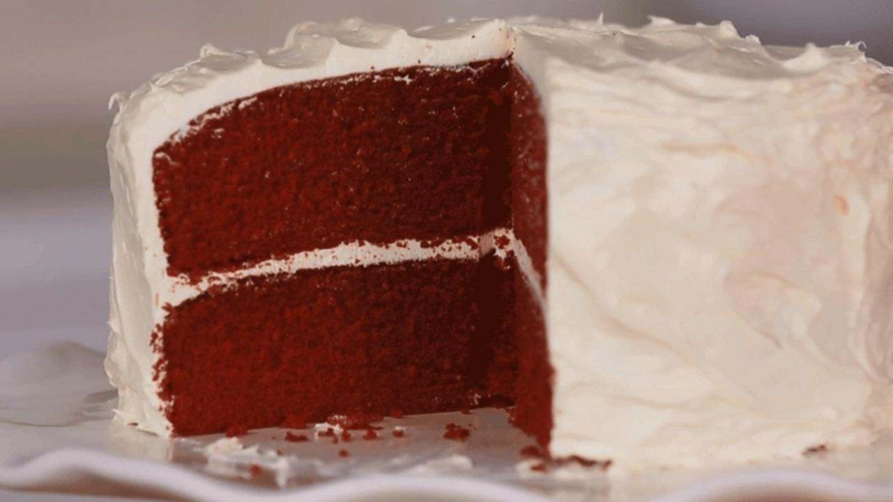 Your Most Vibrant Red Velvet Cake Ever