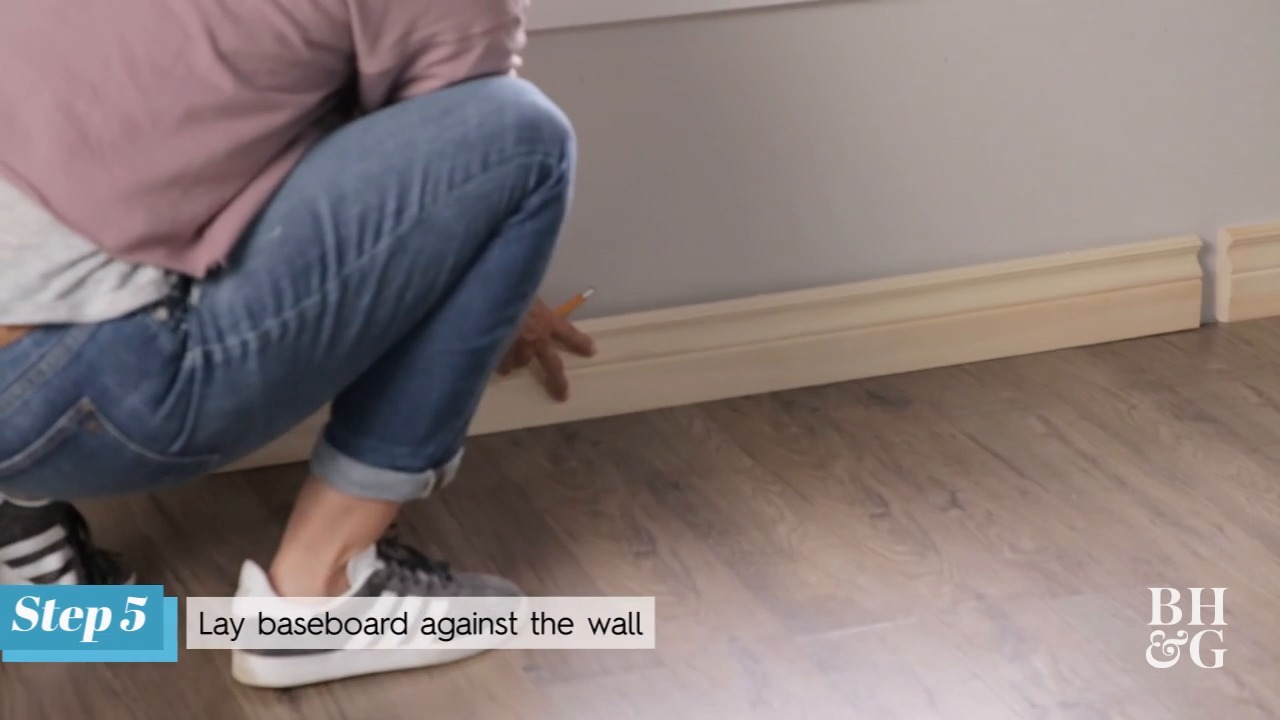 How to Install Baseboard Molding | Better Homes & Gardens