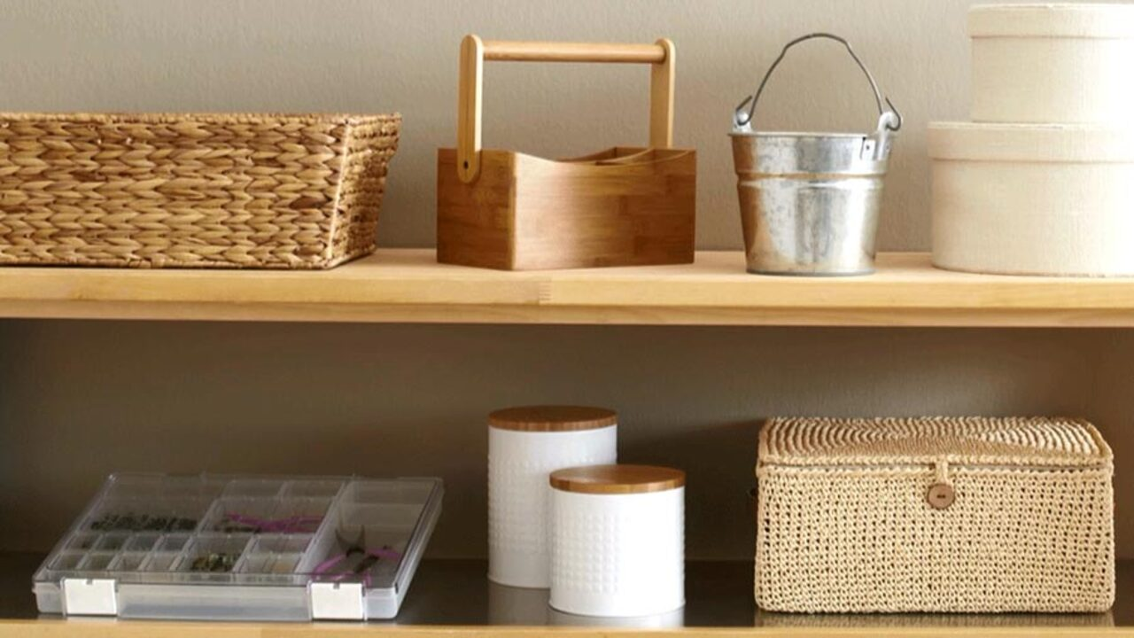 Storage Tip: Use Containers