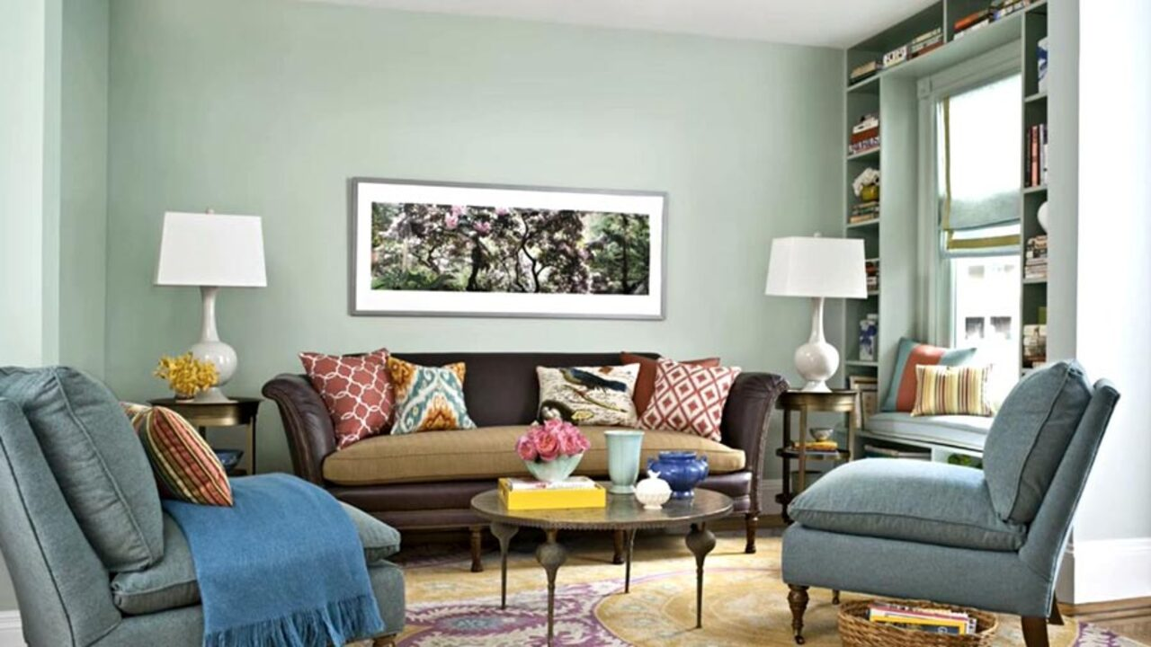 Living room color schemes better homes gardens - Colour scheme ideas for living room ...