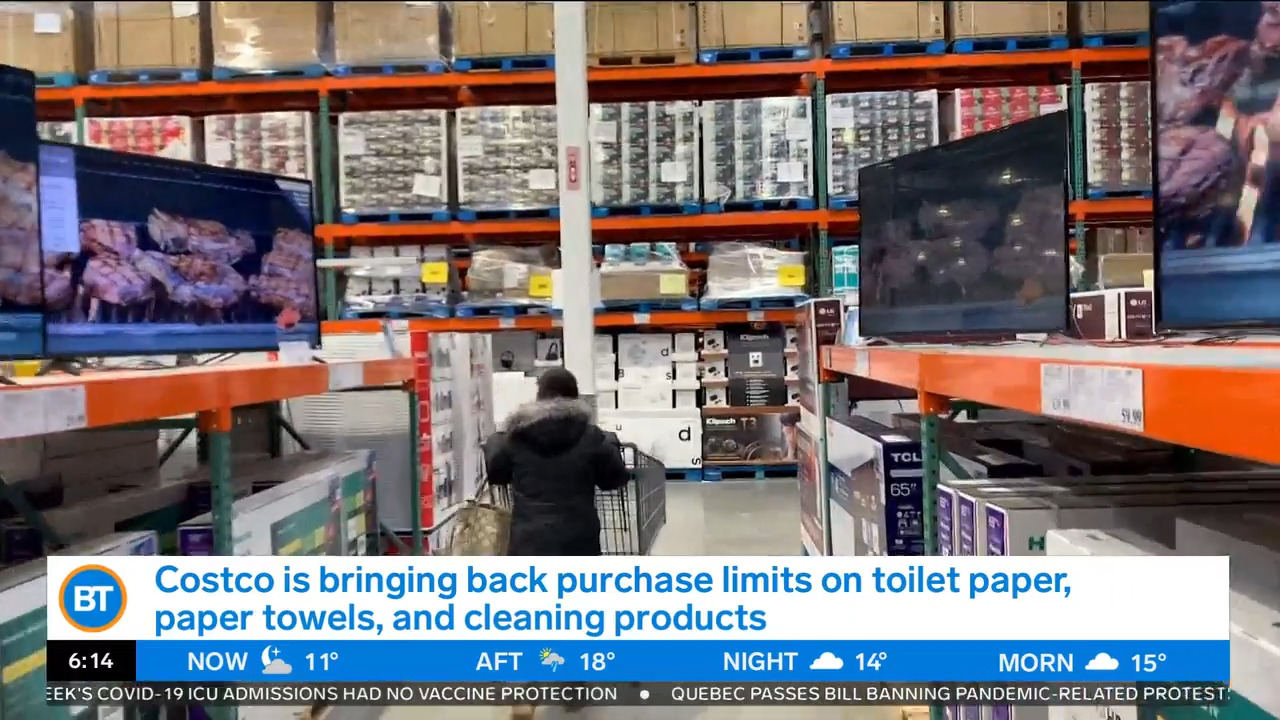 Business Report: Costco purchase limits, Nike's supply chain issues - CityNews Toronto