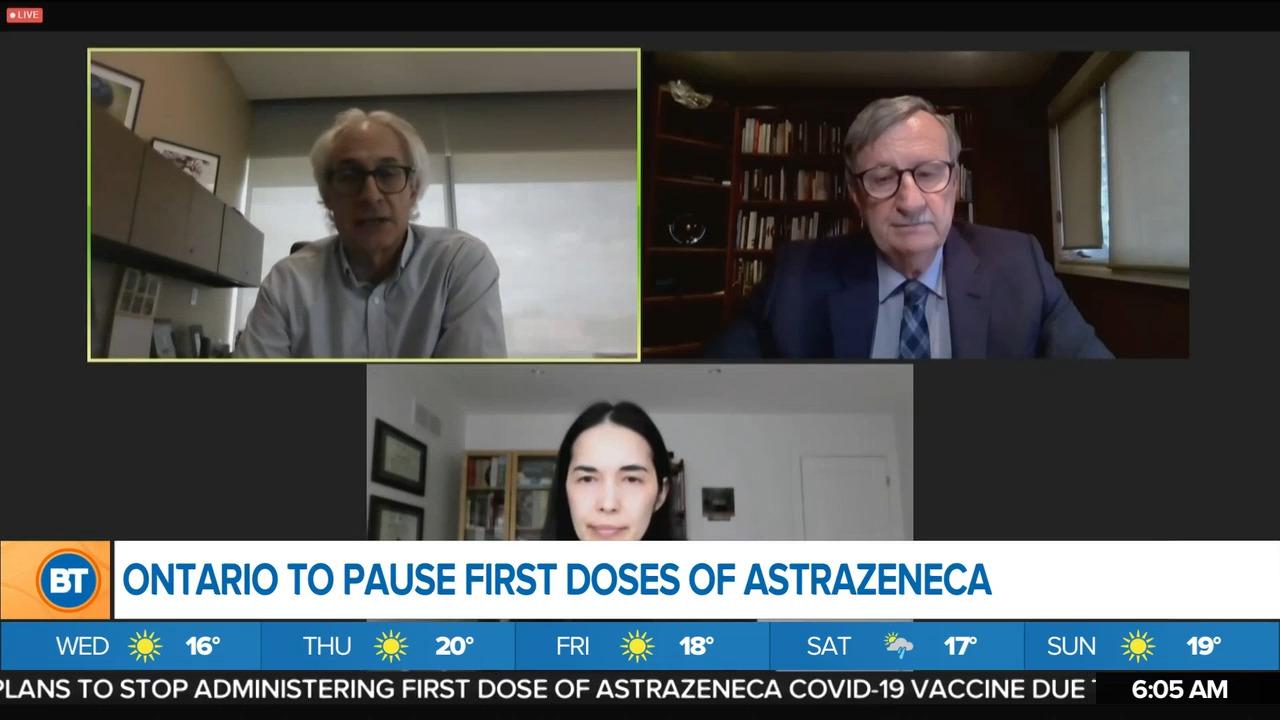 Morning Headlines: Ontario pauses first doze AstraZeneca, Waterloo opens vaccinations to 12+, latest Toronto pop-up clinics - CityNews Toronto