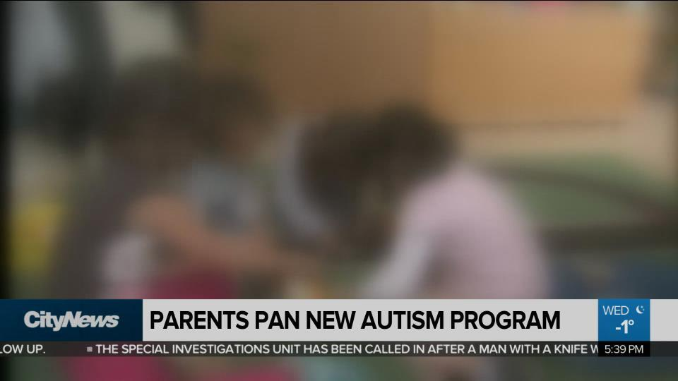 Parents pan new Autism program
