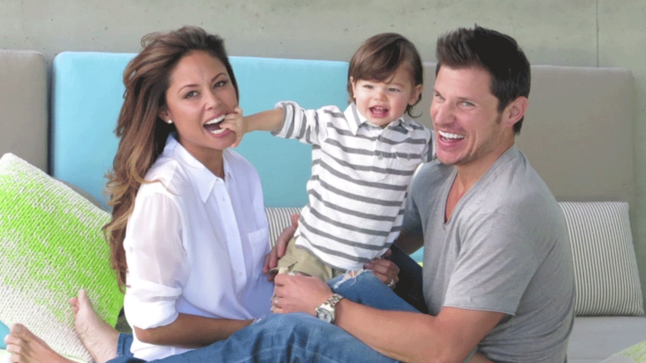 Nick and Vanessa Lachey: The New Parents Game