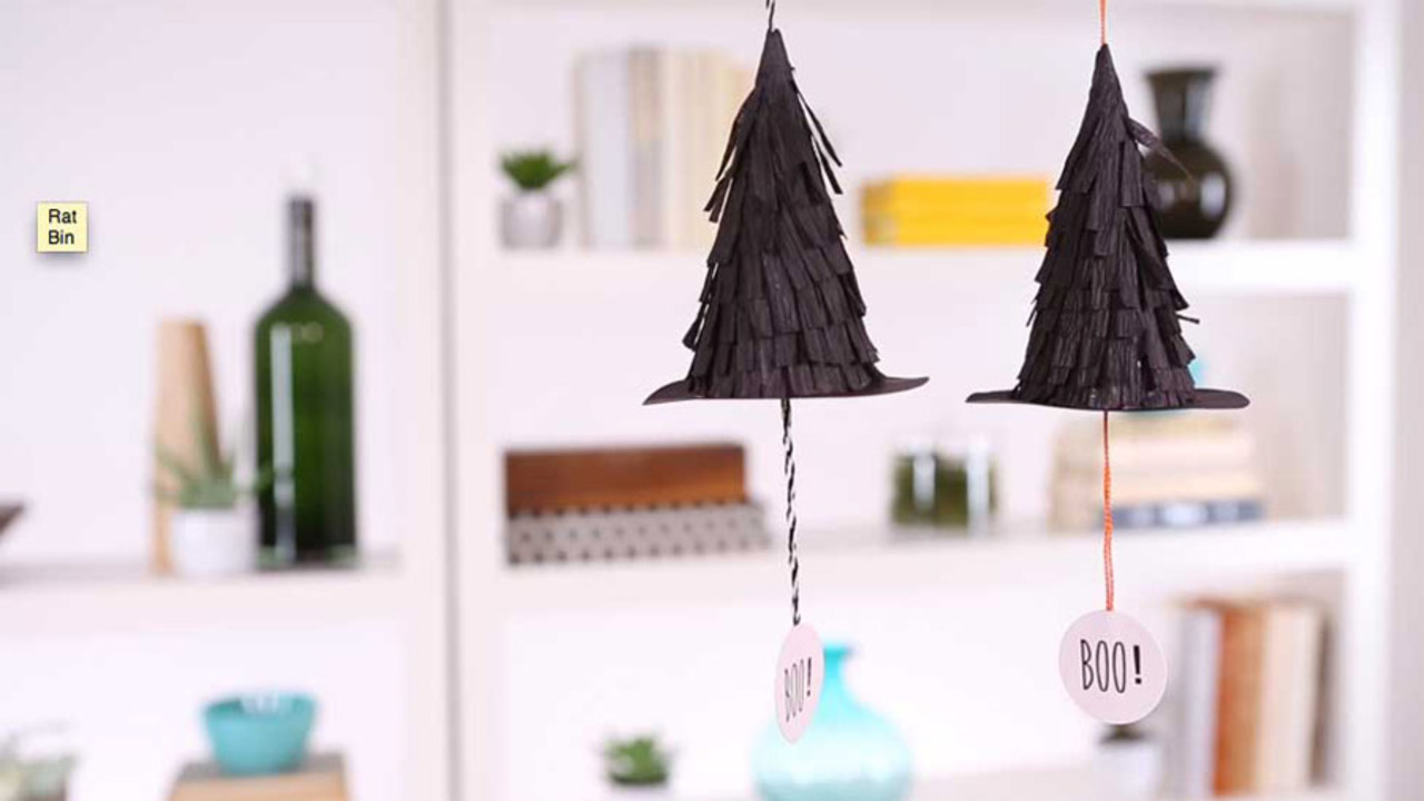 Mini Witch Hat Pinatas