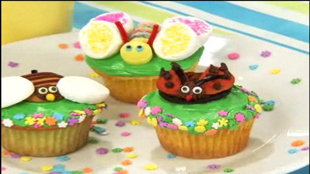Little Critter Cupcakes