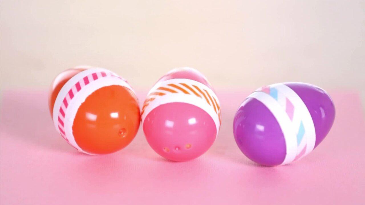 Plastic Easter Egg Shakers
