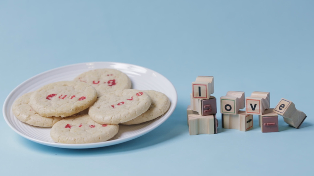 Love-Stamped Cookies