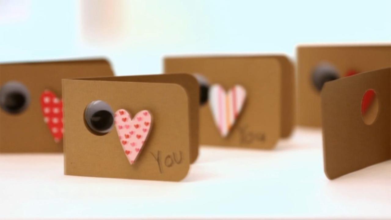 How to Make Heartfelt Valentines