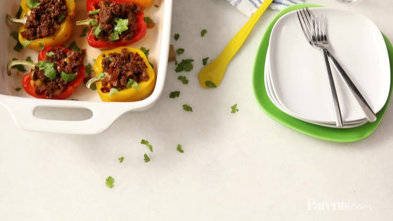 Picadillo-Stuffed Peppers