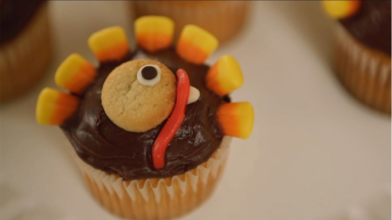 Sweet Turkey Cupcakes