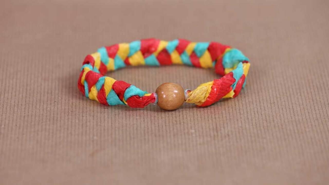 Mother's Day Paper Crafts: Bangle Bracelets