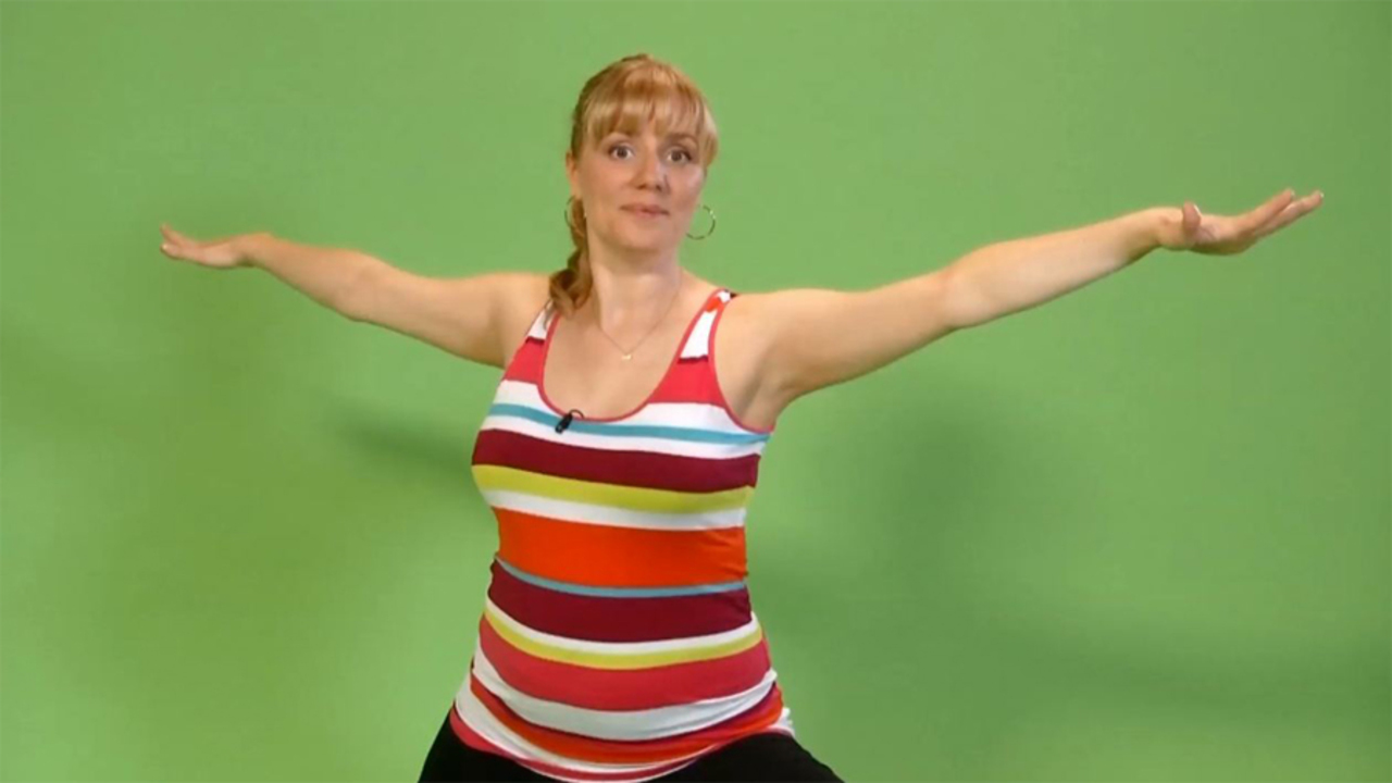 Prenatal Yoga: Warrior 2