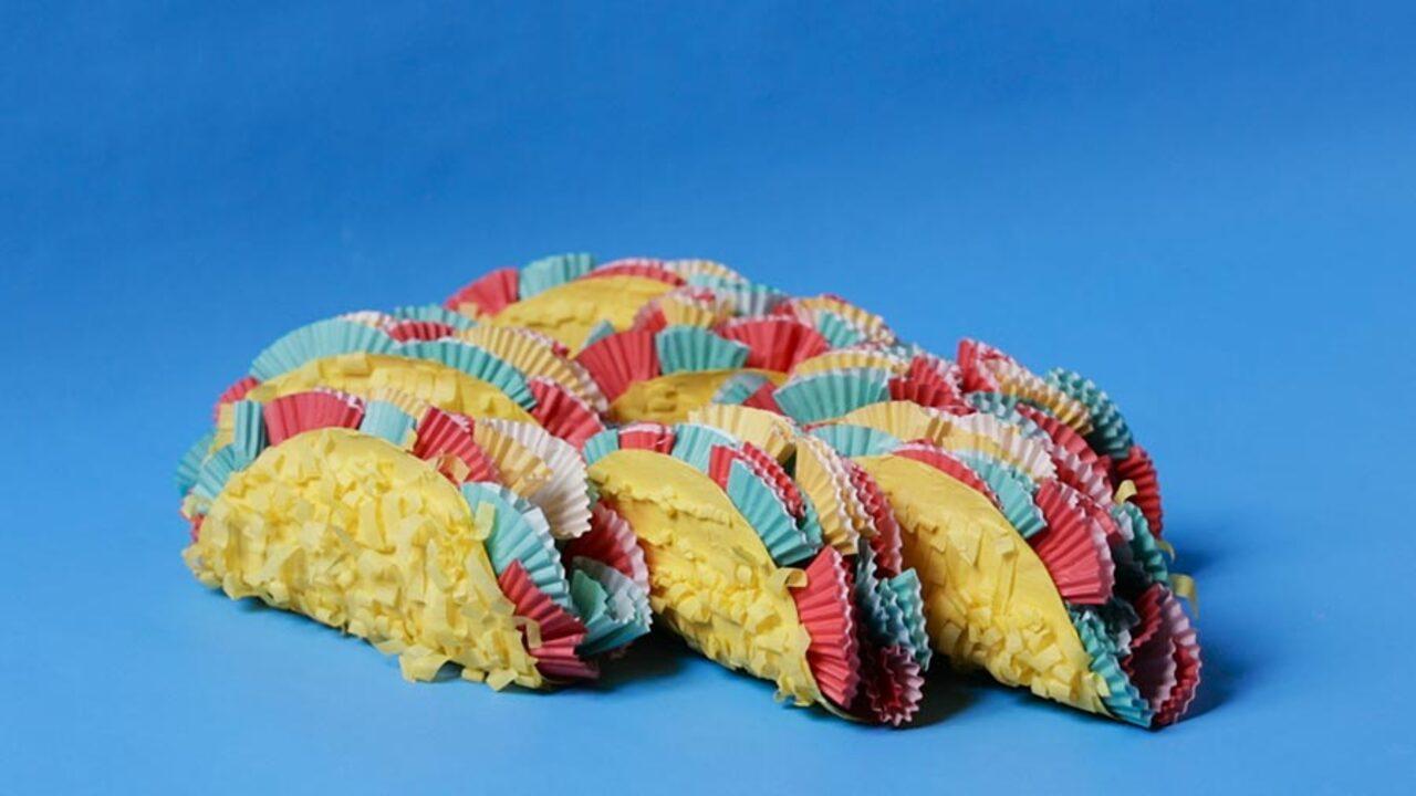 Mini-Taco Piñatas