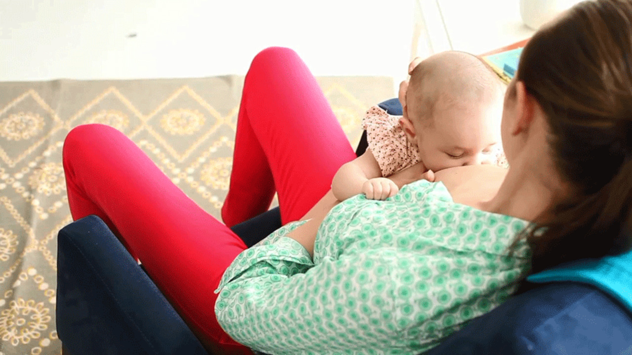 How to Do the Straddle Breastfeeding Position