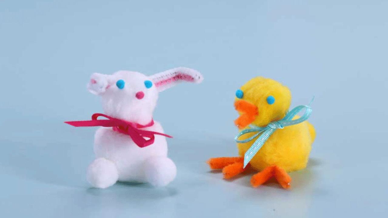 Bunny Pom-Pom Friend