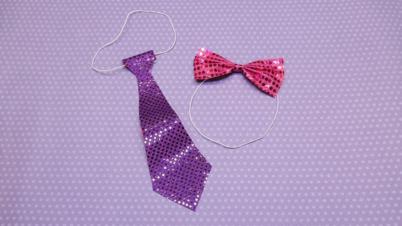 Quick and Easy Valentine's Day Craft: Fun Ties and Bowties