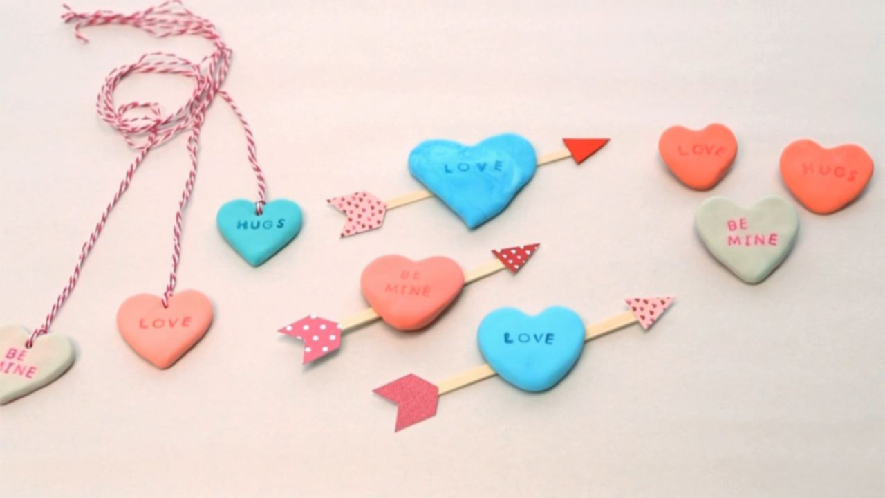 How to Make Clay Play Hearts