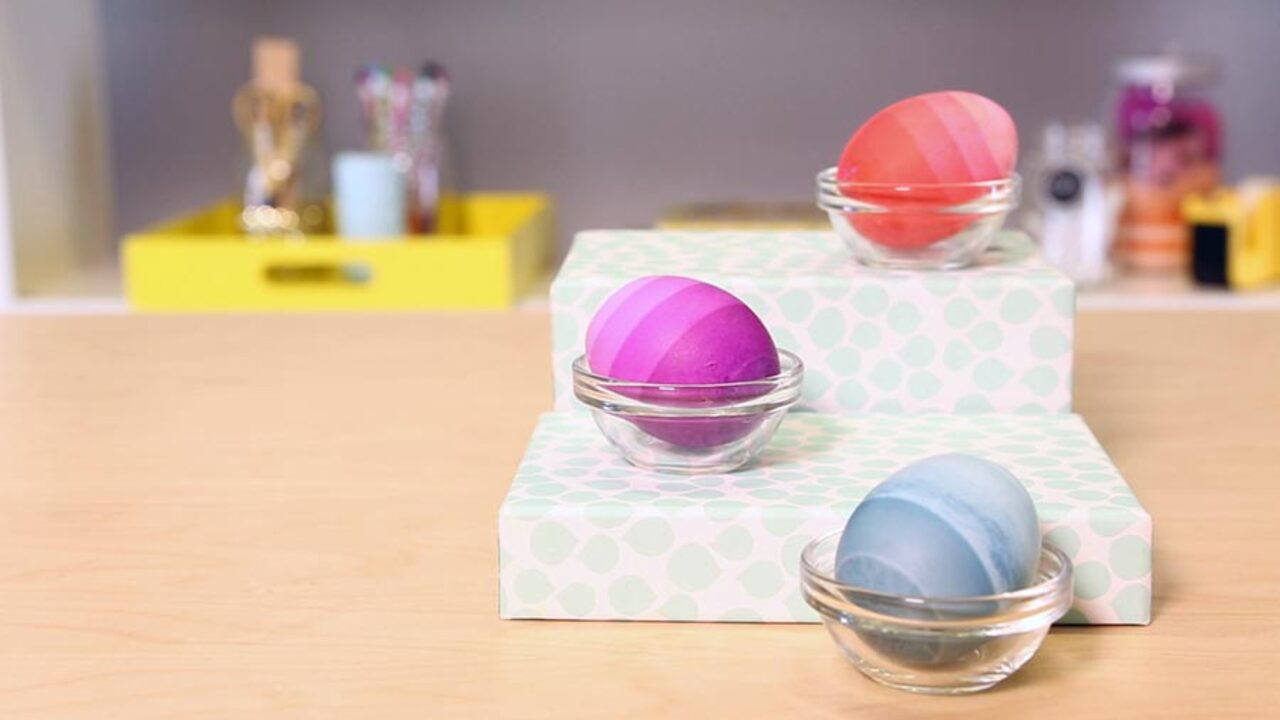 Quick and Easy Easter Eggs: Ombré Layers