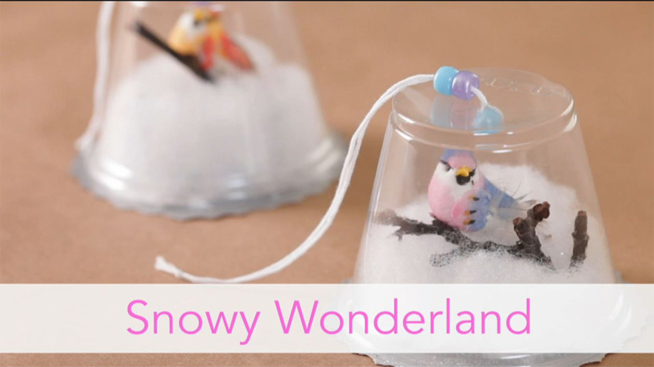 How To Make a Snow Globe Ornament