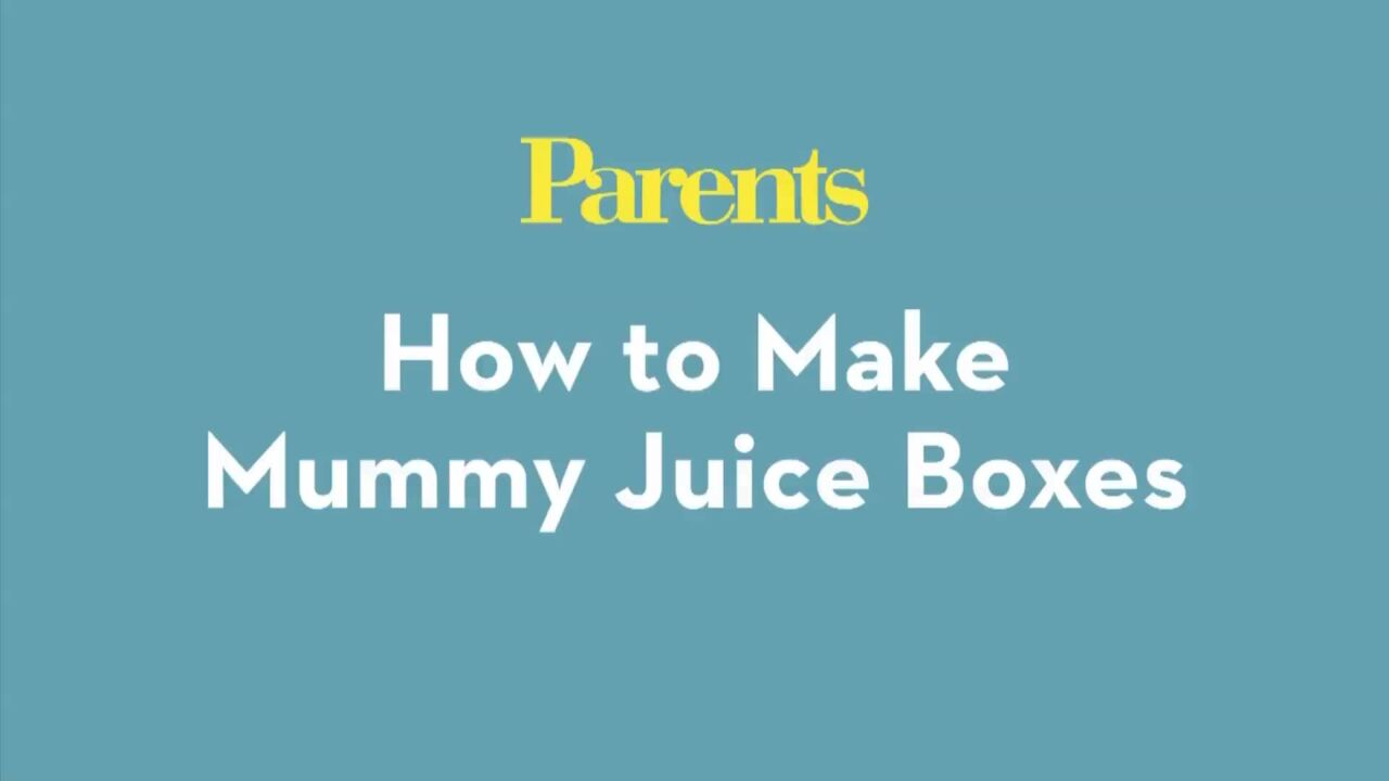 How to Make Mummy Juice Boxes
