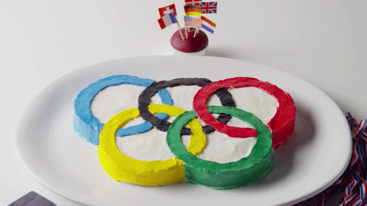 Olympics Ring Cake