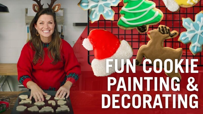 Holiday Cookie Decorating Tutorial