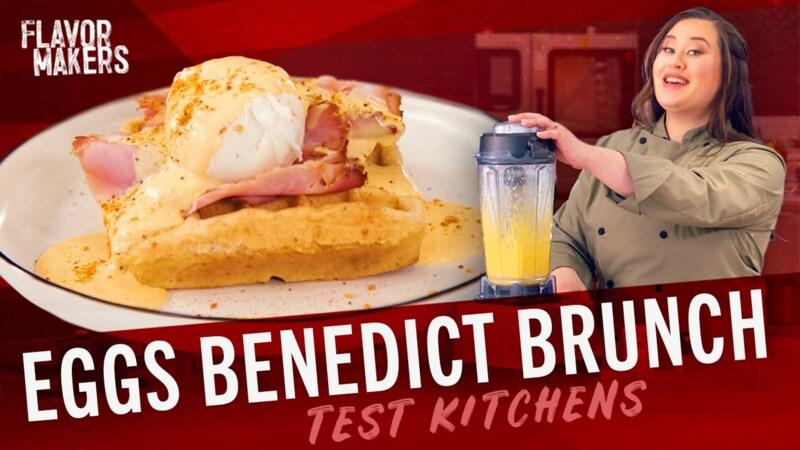 How To Make Eggs Benedict & Hollandaise Sauce