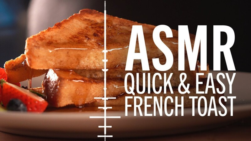 ASMR | How to Make Quick and Easy French Toast