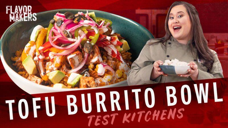 How To Make A Vegetarian Burrito Bowl With Tofu