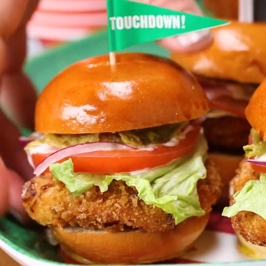 French's Jalapeno Breaded Chicken Sliders