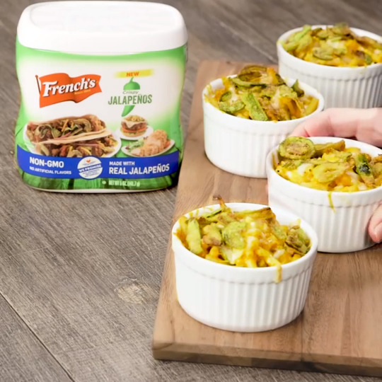 French's Crunchy Jalapeno Mac & Cheese