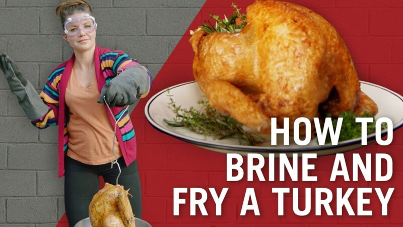 How to Brine & Fry Turkey